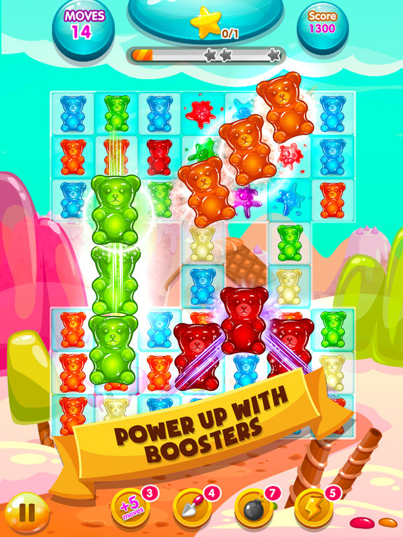 Toy Blast Saga Game Free : Toy jelly bear pop funny blast match free game:在 app