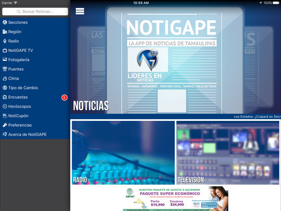 NOTIGAPE iPad Screenshot 3