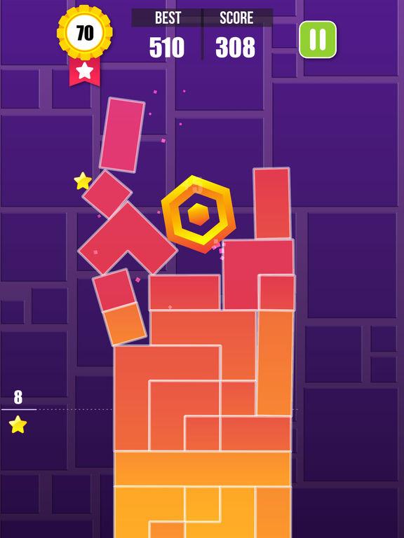 Screenshots of Block Six! - Hexa Puzzle Blitz & Flip Brains Stack for iPad