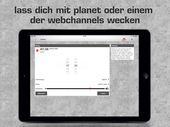 planet radio 2.0 iPad Screenshot 4