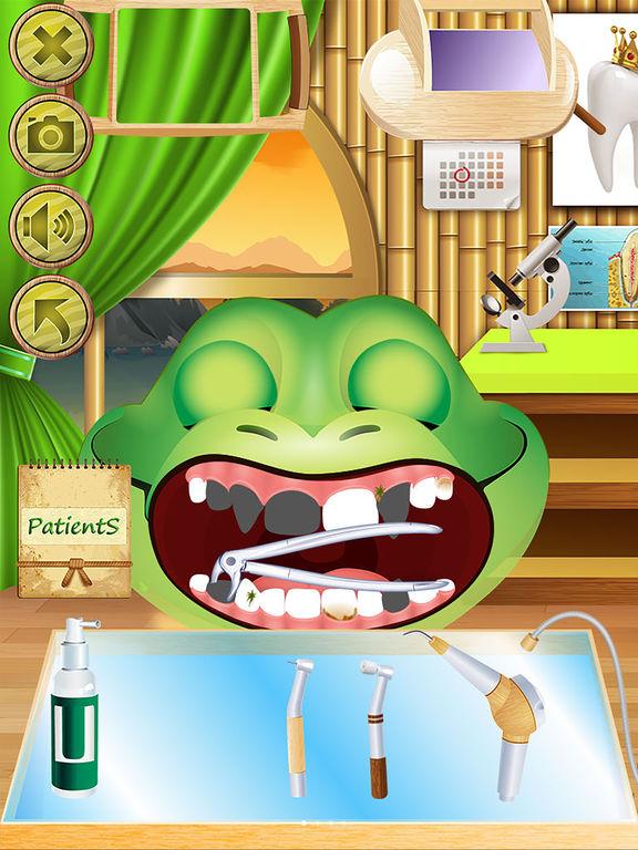 Animal Dentist - Little Baby Pet Doctor Kids Gamesscreeshot 2