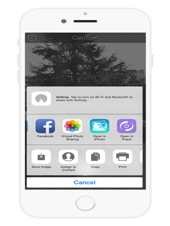 Мультфильм камеры Эскиз Аватар Free - Sketch эффекты на фото Скриншоты5