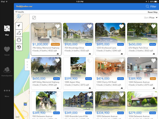 MN Home Search - TheMLSonline.com Real Estate - Minnesota MLS Search iPad Screenshot 3