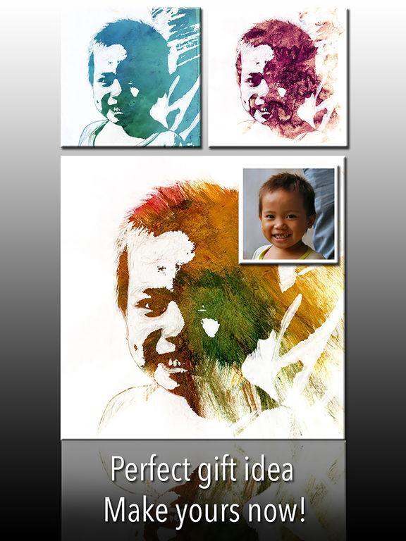 Artprint - Personalized Canvas Christmas Gift Screenshots