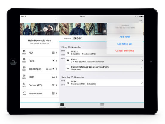 Berg-Hansen iPad Screenshot 3