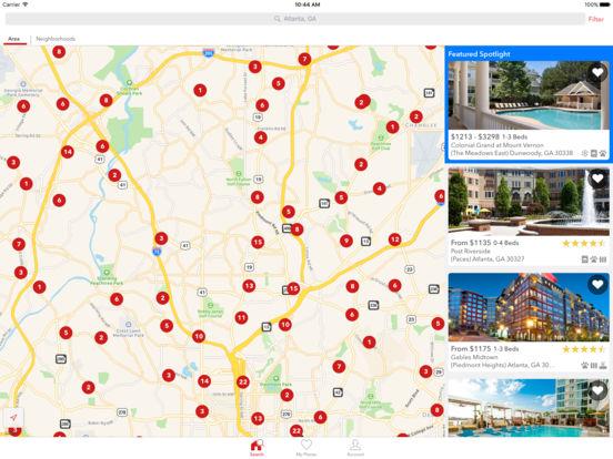 Apartments iPad Screenshot 1