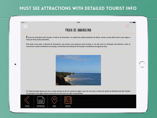 Travel Rio de Janeiro iPad Screenshot 3