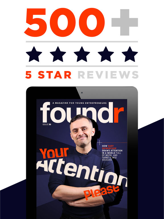 AAA+ Foundr - A Young Entrepreneur Magazine for a Startup Business Company screenshot