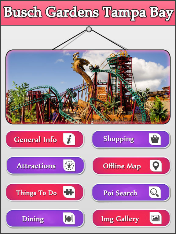App Shopper Best App For Busch Gardens Tampa Bay Guide