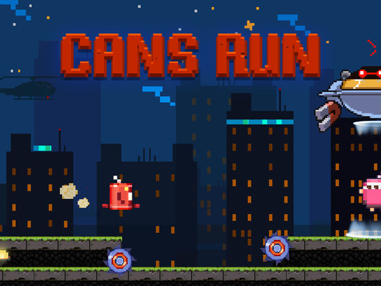 Cans Run Screenshots