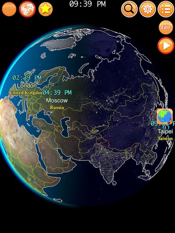 Clocks of Cities Pro Screenshots