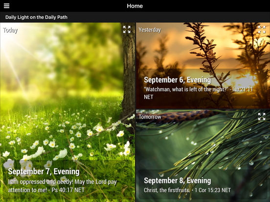 Elegant Daily Light On The Daily Path   Daily Devotional Screenshot ... Pictures Gallery