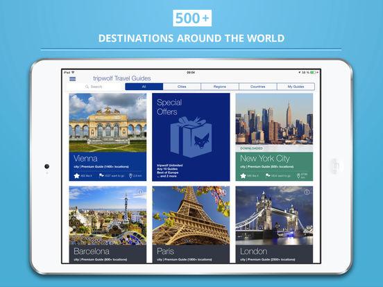 Bordeaux Guide de Voyage iPad Screenshot 5