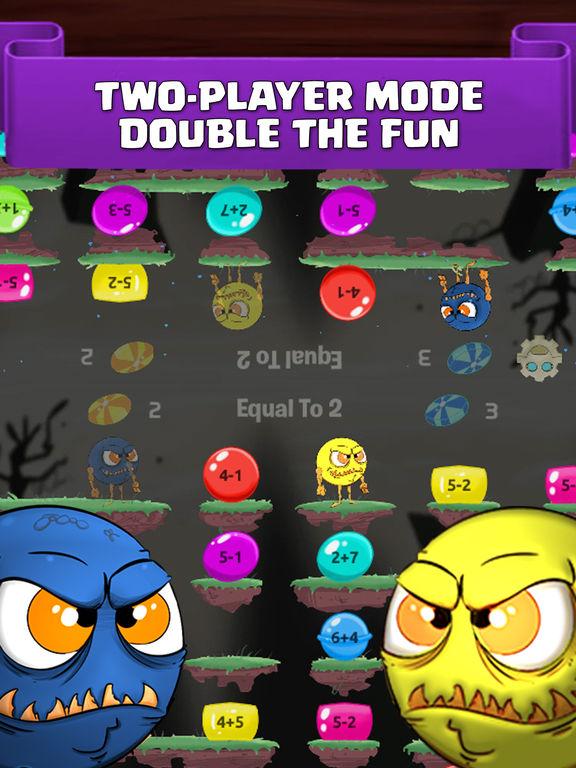 Monster Math. Free Fun Games for elementary grades screenshot