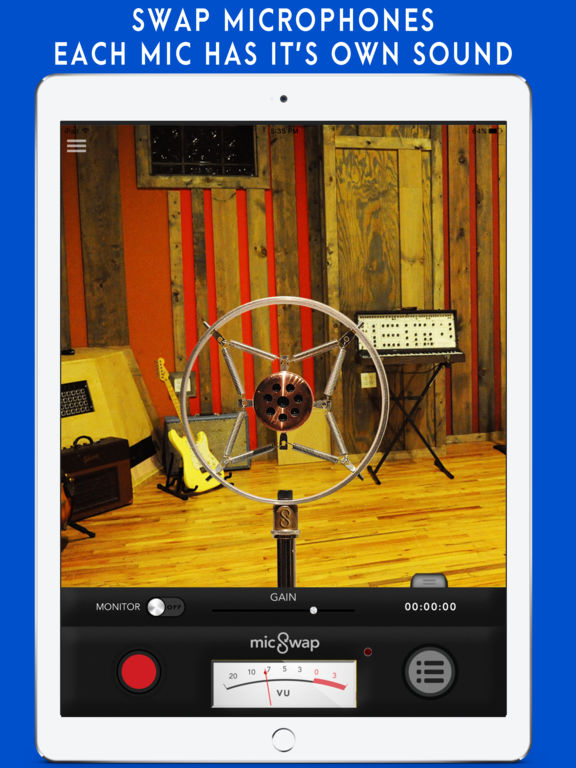 MicSwap: Microphone Emulator & Recorder Screenshots