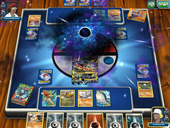 Pokemon trading card game iphone app