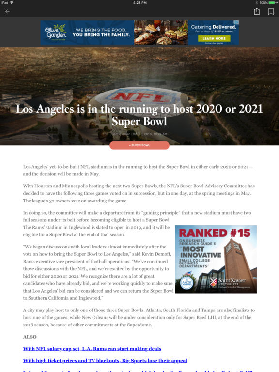 LA Times: Your California News Screenshots