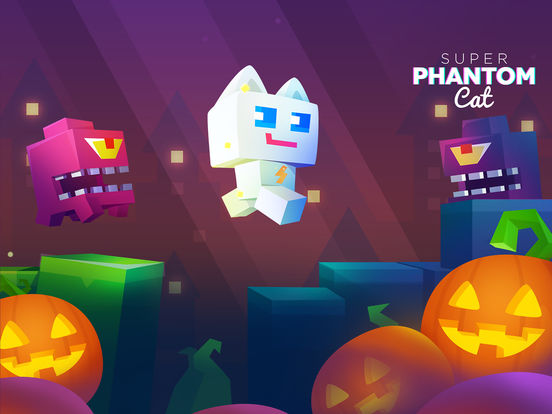 Super Phantom Cat - Be a jumping bro. Screenshots