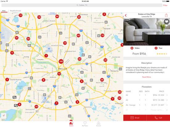 Apartments iPad Screenshot 3