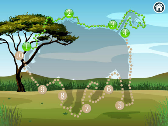 Connect Dots Africa  - Learning Game Screenshots