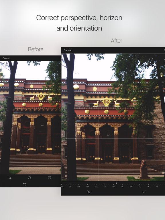 CaptureFix - perspective & horizon corrector Screenshots