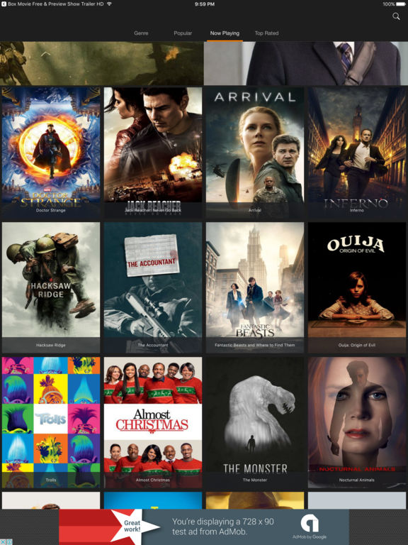 Show HD - Movie & Preview Cinema Trailer Box Screenshots