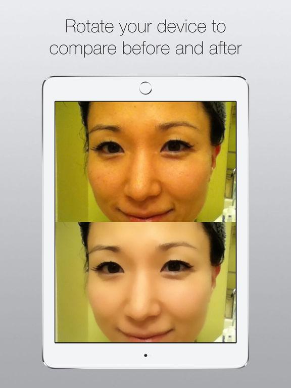 CreamCam+ Selfie Filter Screenshots