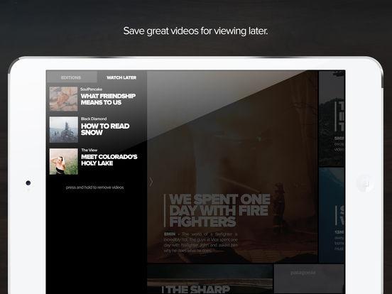 Hyper - one handpicked video every hour Screenshot