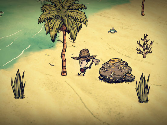 App Store Screenshot of Don't Starve: Shipwrecked