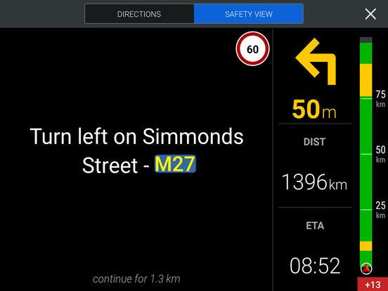 CoPilot Live South Africa iPad Screenshot 2