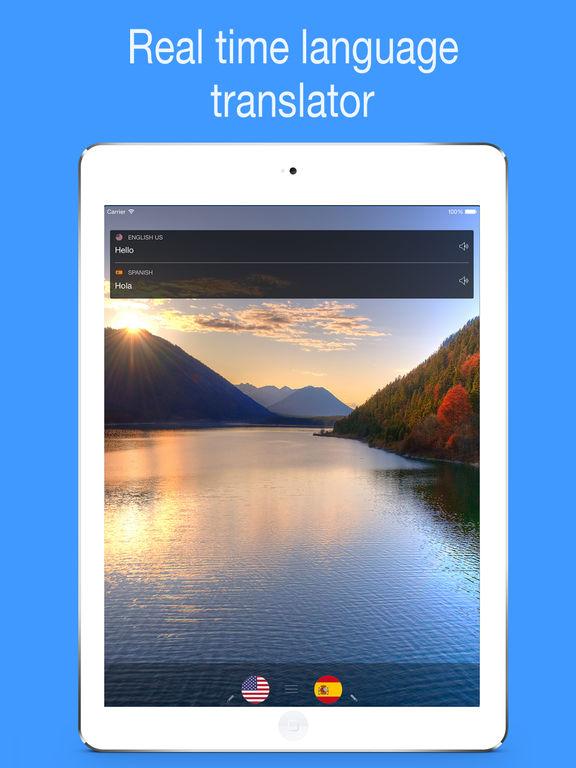 myTranslator.io: Voice and Text Translator Screenshots