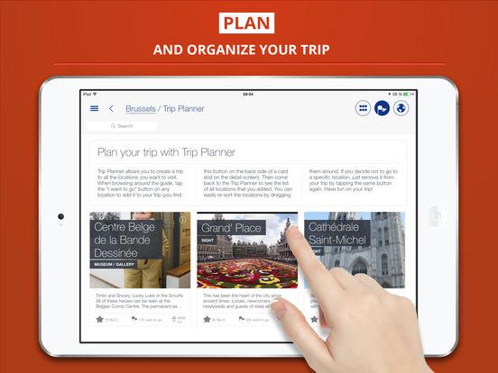 Brussels City tripwolf Travel Guide iPad Screenshot 3