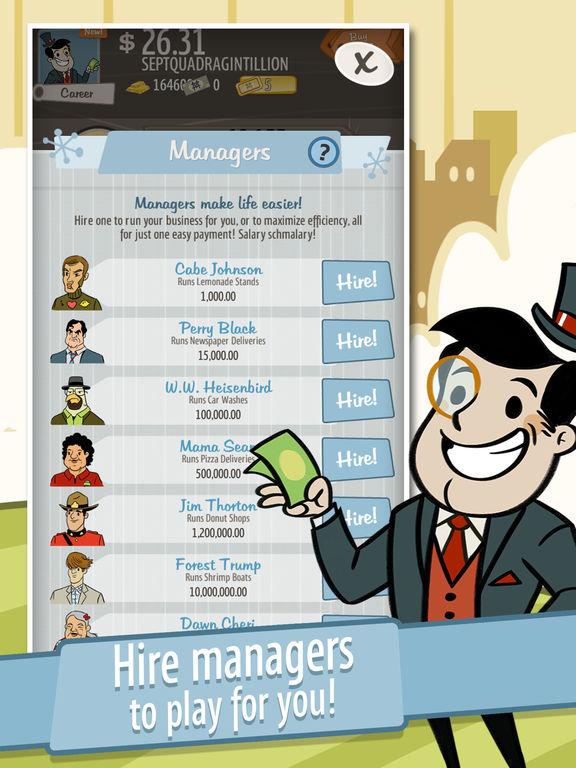 Screenshots of AdVenture Capitalist! for iPad