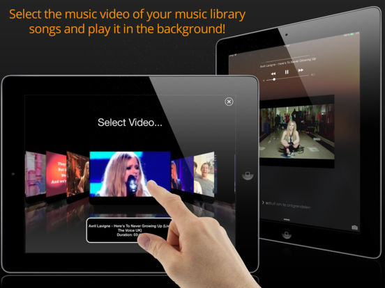 AudioViz  - View your Music Songs for Free (YouTube edition)! screenshot