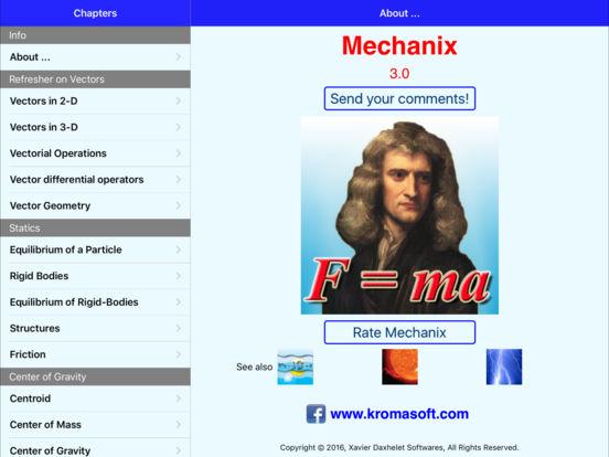 Mechanix iPad Screenshot 5