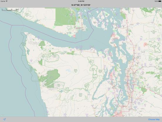 MapTap iPad Screenshot 1