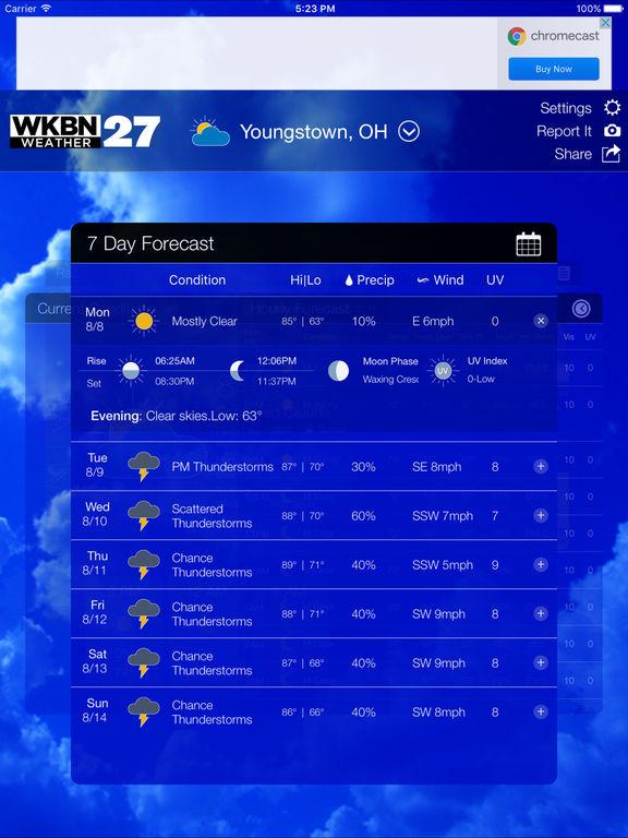 app shopper  wkbn 27 weather