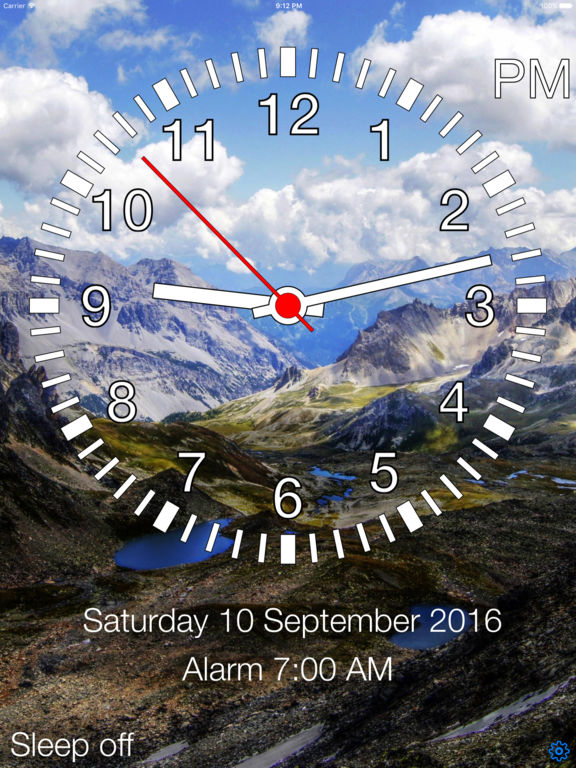 TalkingAlarm - Best bedside clock! screenshot