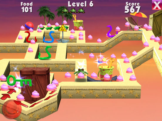 3D Frog Feast Screenshots