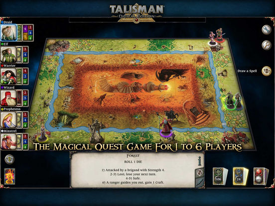 Talisman Screenshots