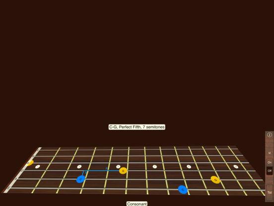 Guitar Interval Ear Training iPad Screenshot 2