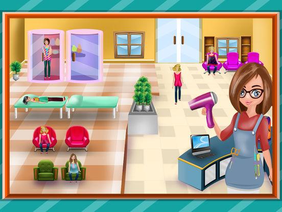 Скачать игру Спа салон красоты Анны & макияж салон - весело игр