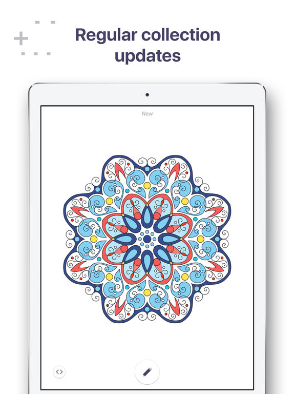 Coloring Pages Ipad Pro : Coloring book for me pages adults
