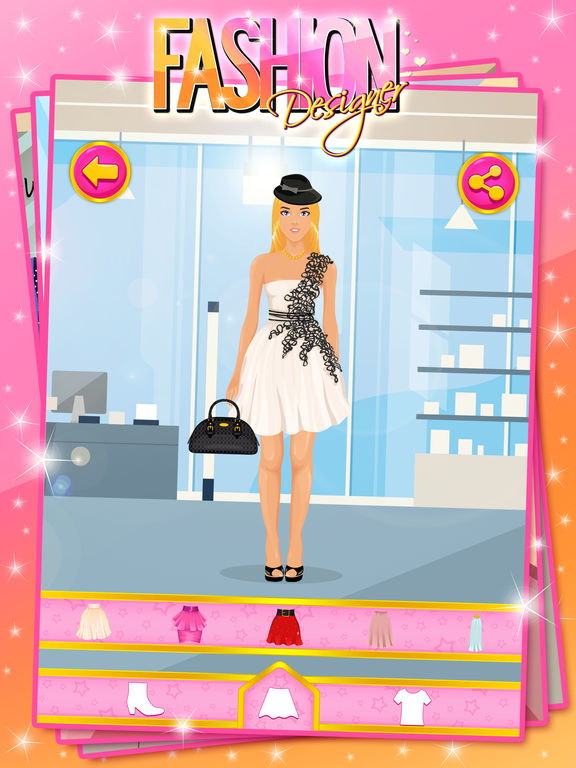 App shopper fashion designer dress up game games Online fashion designer games
