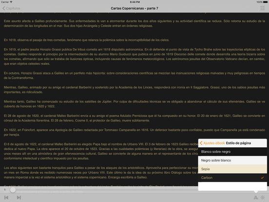 Galileo Galilei - Cartas Copernicanas iPad Screenshot 1