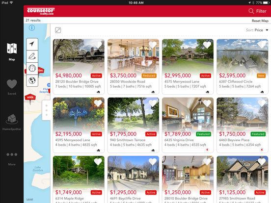 Counselor Realty - Home Search Minnesota Real Estate iPad Screenshot 2
