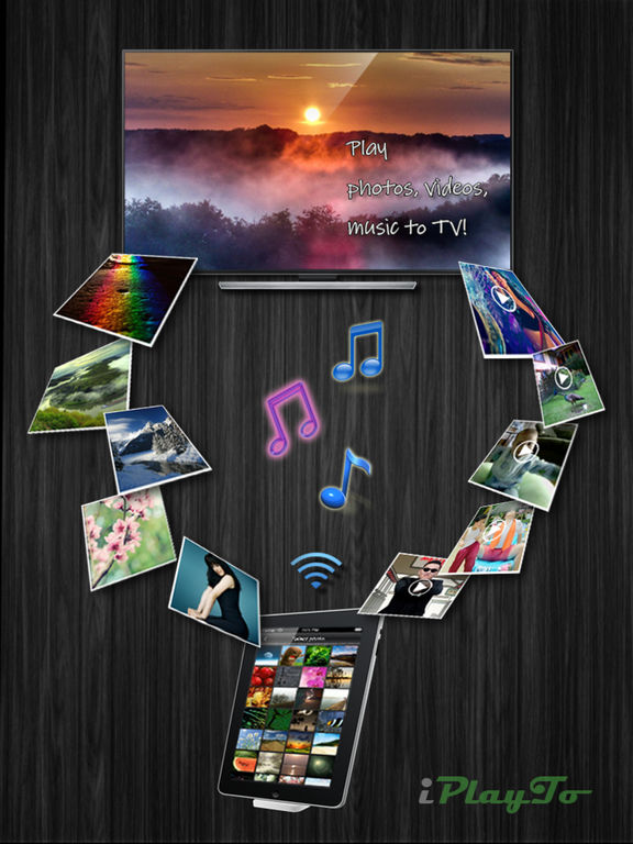 iPlayTo - Play photos, videos and music to TV Screenshots