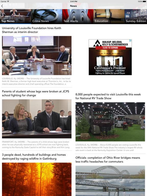WDRB News screenshot 7