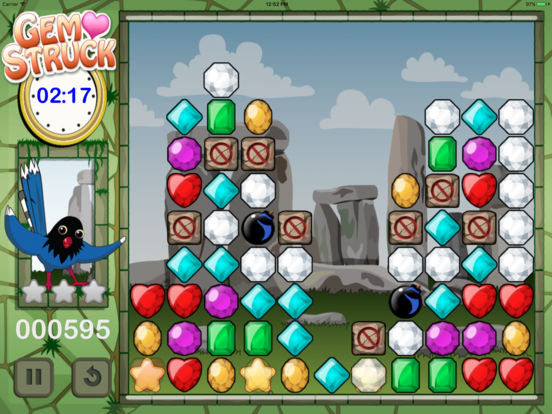 Gem Struck iPad Screenshot 4