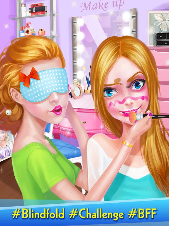App Shopper Fashion Blogger Girl Blindfold Makeup